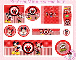 Kit festa digital Minnie e Mickey
