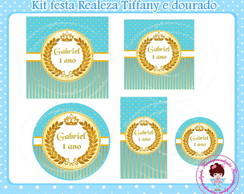 Kit festa digital Realeza Tiffany
