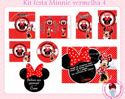 Kit festa digital Minnie vermelha 2