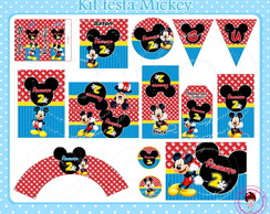 Kit festa digital Mickey 4