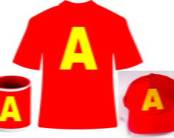 Kit Alvin: Camiseta. Bone e Caneca