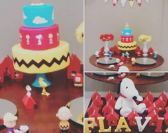 Caixas da casinha do snoopy