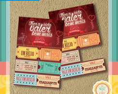 Ticket do Amor - Vale Presente