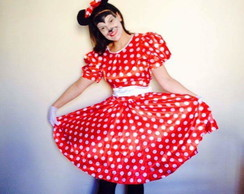 Fantasia Minnie Adulto