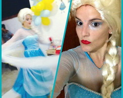Fantasia Princesa Elsa - Frozen adulto