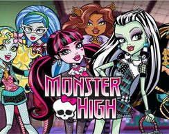 Painel de festa monster high 01 2x1