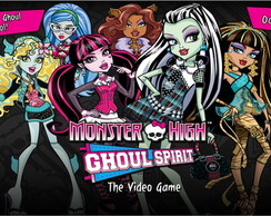 Painel monster high 03 1,00 x 0,70