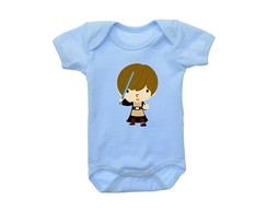 Body OU Camiseta INFANTIL Luke Skywalker Star Wars
