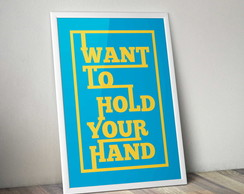 Cartaz Hold your hand