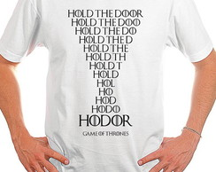 Camiseta Game of Thrones, HODOR