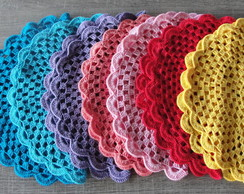 Sousplat Croche Colours
