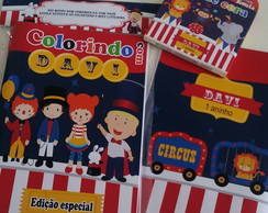 Kit Colorir - Circo Vintage