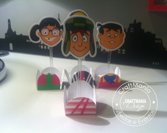 Forminha de Doces Chaves + Topper