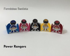 KIT FORMINHAS POWER RANGERS - ATACADO