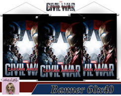 Banner Decorativo - Guerra Civil