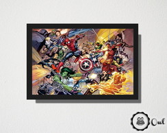 Quadro Marvel guerra civil