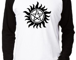 Camiseta Raglan Supernatural