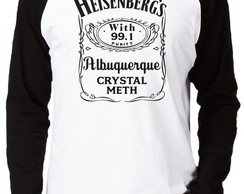 Camiseta Raglan Breaking Bad #4