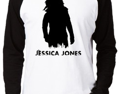 Camiseta Raglan Jessica Jones #1