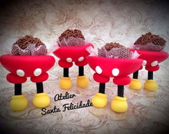Forminha para Doce Mickey Mouse Biscuit
