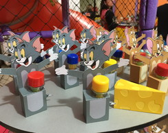 Porta Tubete Tom e Jerry