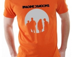 Camiseta Personalizada Imagine Dragons