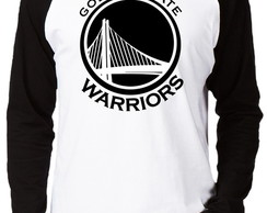 Camiseta Raglan Golden State Warriors
