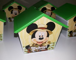 Casinha Cofre Mickey Safari