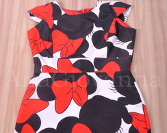 Vestido Adulto Minnie Mouse