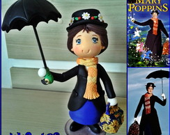 Bonequinha Personagem 20cm-Mary Poppins