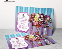 Convite Digital Ever After High 1