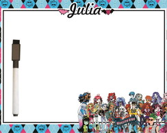 Lousa Personalizada MONSTER HIGH