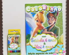 Kit colorir Sininho