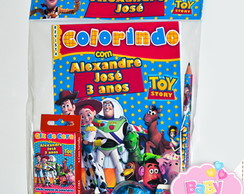 Kit colorir Toy Story ( 6 ítens )