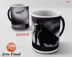 Caneca Mágica Batman X Super Man