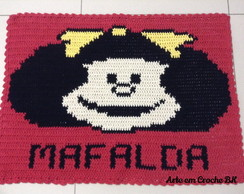 Tapete Croche Personagem Mafalda