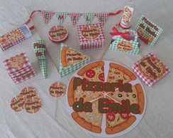 KIT FESTA PERSONALIZADA PIZZARIA