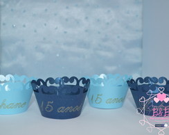 Wrapper (saia) p/ cup cake MINI