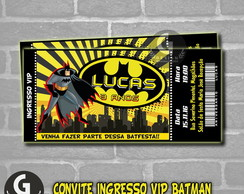 Convite ingresso -BATMAN-Digital