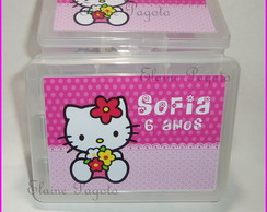 CAIXA ORGANIZADORA HELLO KITTY