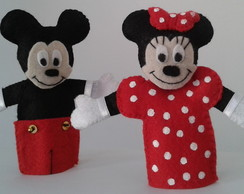 Dedoches Mickey e Minnie Mouse