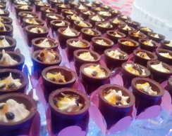 Copinho de Chocolate com mousse