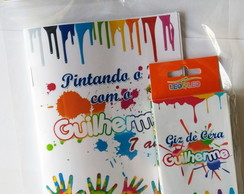 Mini Kit de Colorir - Pintando o 7