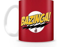 Caneca Vermelha Bazinga The Big Bang