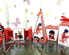Kit Festa Infantil Lady Bug