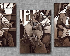 """Poster Decorativo JAZZ"""