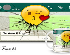 Caneca Love WhatsApp