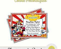 CONVITE CIRCO DO MICKEY II