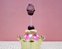 Toppers para doces - Keep calm - cupcake