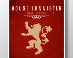 3 Posters -Game Of Thrones-Frete Gratis